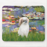 Lilies 2 - Japanese Chin (L2) Mouse Pads