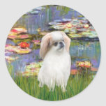 Lilies 2 - Japanese Chin (L2) Sticker