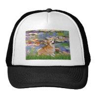 Lilies 2 - Pembroke Welsh Corgi 7B Hats