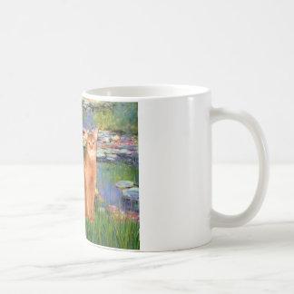 Lilies 2 - Red Abyssinian Coffee Mug