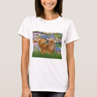 Lilies 2 - Red Persian cat T-Shirt