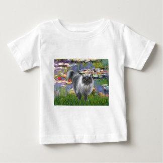 Lilies 2 - Silver Persian cat Baby T-Shirt