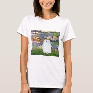 Lilies 2 - White Persian kitten 49 T-Shirt