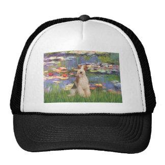 Lilies 2 - Wire Fox Terrier 3 Trucker Hats