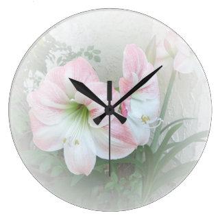 Lilies 3 Clock
