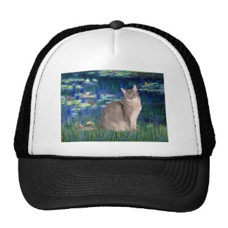 Lilies 5 - Abyssinian (blue 21) Mesh Hat