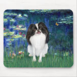 Lilies 5 - Japanese Chin 3 Mouse Pads