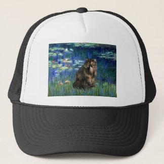 Lilies 5 - Persiasn Calico cat Trucker Hat