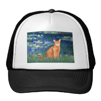 Lilies 5 - Red Abyssinian Mesh Hat
