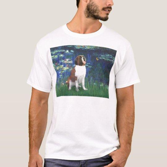 Lilies 5 - Saint Bernard T-Shirt