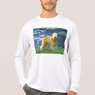 Lilies 5 - Wheaten Terrier (stand) T-Shirt
