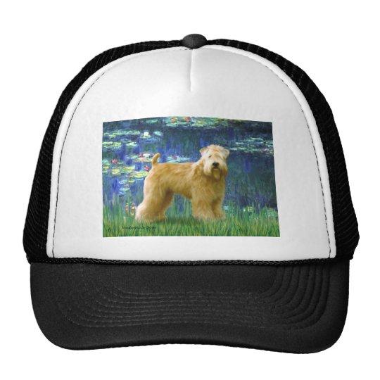 Lilies 5 - Wheaten Terrier (stand) Trucker Hat