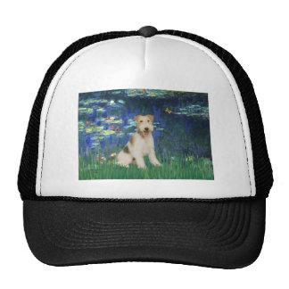 Lilies 5 - Wire Fox Terrier #1 Hats