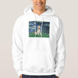 Lilies 5 - Wire Fox Terrier #1 Hoodie