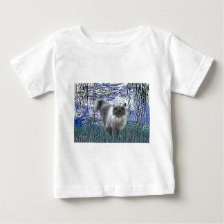 Lilies 6 - Blue Smoke Persian cat Baby T-Shirt