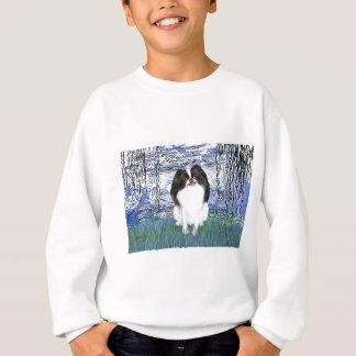 Lilies 6 - Japanese Chin 2 Sweatshirt