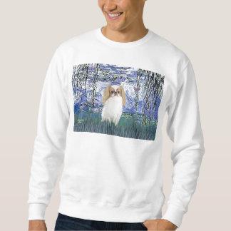 Lilies 6 - Japanese Chin (L1) Sweatshirt
