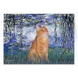 Lilies 6 - Orange Tabby cat 46 Cards