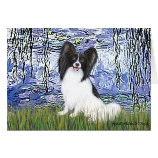 Lilies 6 - Papillon 1 Greeting Cards