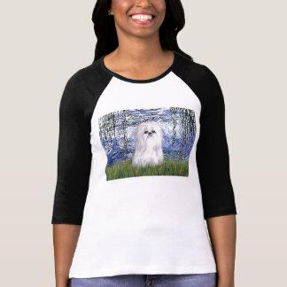Lilies #6 - Shih tzu (white) T-Shirt