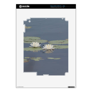 Lilies and Dragonfly Decal For The iPad 2