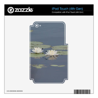 Lilies and Dragonfly iPod Touch 4G Skin