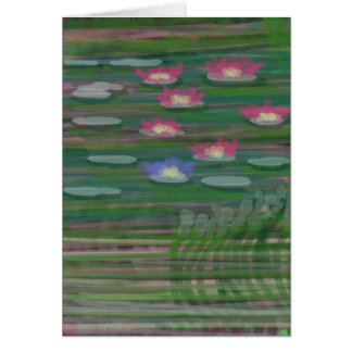 Lilies by Carole Tomlinson Greeting Card