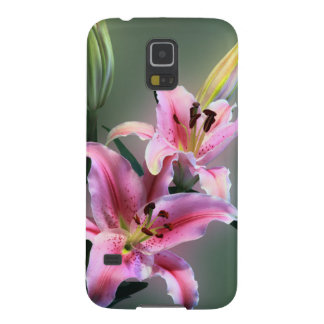 Lilies Case For Galaxy S5