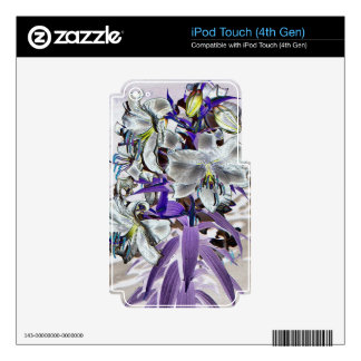 Lilies Decal For iPod Touch 4G