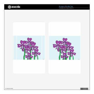 Lilies Decals For Kindle Fire