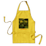 lilies, EAT, DRINK, BREATH......MINDFULNESS,   ... Adult Apron