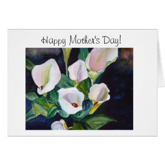 Lilies from my Garden Card