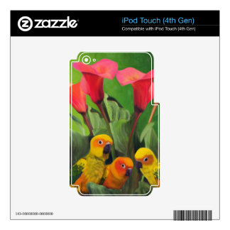 Lilies Grotto iPod Touch 4G Skin