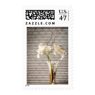 lilies in a vase postage