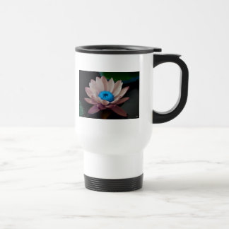 Lilies in Pink 15 Oz Stainless Steel Travel Mug
