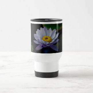 Lilies in Purple 15 Oz Stainless Steel Travel Mug