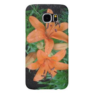 Lilies In Summer Samsung Galaxy S6 Case