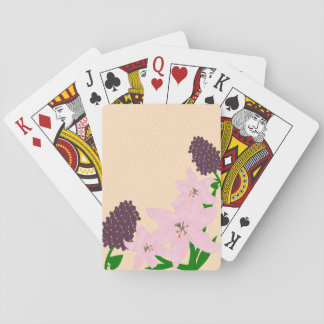 Lilies & Lilacs Playing Cards