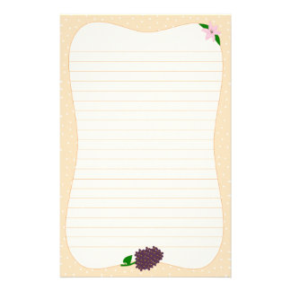 Lilies & Lilacs Stationery