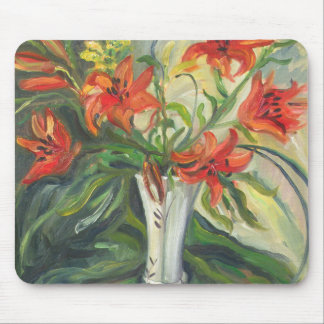 Lilies Mouse Pad