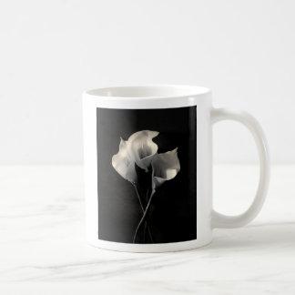 Lilies Classic White Coffee Mug