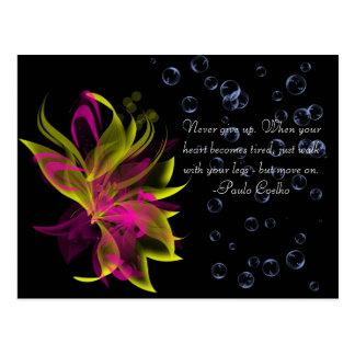 Lilies N' Bubbles Postcard