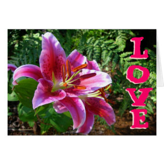 Lilies of Love Card