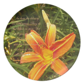 Lilies of the Field Plate