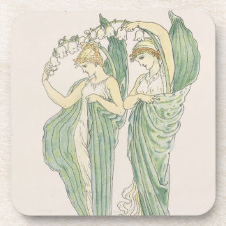 Lilies of the Vale, from Flora's Feast, 1901 (colo Beverage Coaster