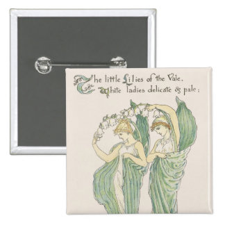 Lilies of the Vale, from Flora's Feast, 1901 (colo Button