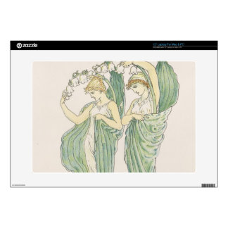 Lilies of the Vale, from Flora's Feast, 1901 (colo Laptop Decal