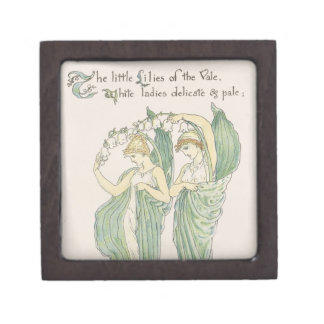 Lilies of the Vale, from Flora's Feast, 1901 (colo Premium Trinket Boxes