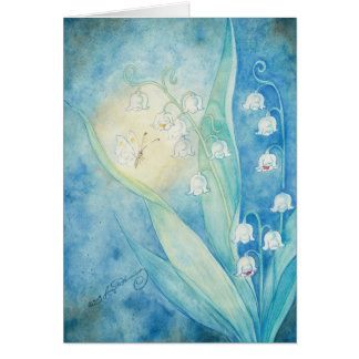 Lilies Of The Valley Art Note Cards