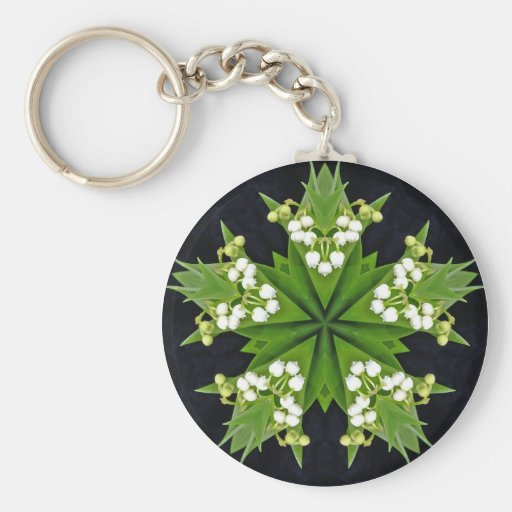 Lilies of the Valley - Keychain